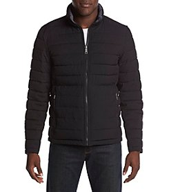 Nautica Men's Big & Tall Reversible Puffer Jacket
