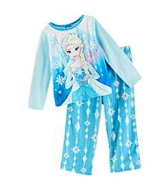 Disney® Girls' 2T-4T 2 Piece Enchanted Elsa Sleepwear Set
