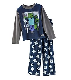 Minecraft Boys' 4-6 2 Piece Pajama Set