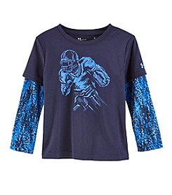Under Armour Boys' 2T-4T Long Sleeve Witness Greatness Shirt