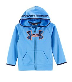 Under Armour Boys' Boys 2T-4T Long Sleeve Geo Cache Big Logo Hoodie