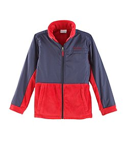 Columbia Boys' 8-20 Steens Mountain™ Overlay Fleece Jacket