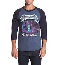 Bravado Men's Metallica Ride the Lightning Raglan Tee