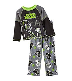 Star Wars Boys' 4-10 Darth Vader and Stormtrooper Pajama Set