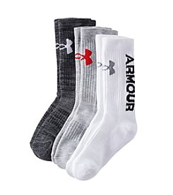Under Armour Boys' Statement Crew Socks
