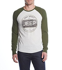 Lucky Brand Men's Long Sleeve Jeep Spirit Tee