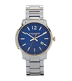 COACH Men's 42mm Bleecker Slim Stainless Steel Strap Watch