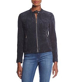 Ivanka Trump Faux Suede Jacket