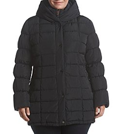 Calvin Klein Plus Size Puffer Quilted Coat