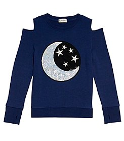Jessica Simpson Girls' 7-16 Moon & Star Top