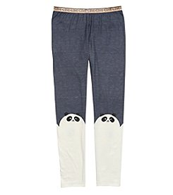 Jessica Simpson Girls' 8-16 Panda Leggings