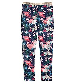 Jessica Simpson Girls' 7-16 Birds & Roses Leggings