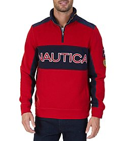 Nautica Men's Big Logo Pullover