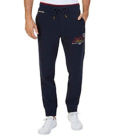 Nautica Men's Wow-Logo Joggers