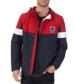 Nautica ® Men's Colorblocked Hooded Jacket