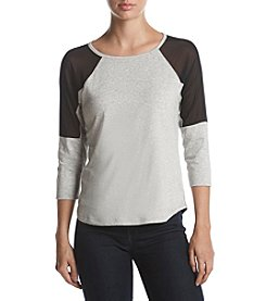 Warrior by Danica Patrick™ Mesh Shoulder Top