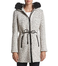 Ivanka Trump® Anorak With Faux Fur Detail Coat