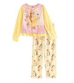 Disney® Girls' 4-8 Belle Princess Pajama Set