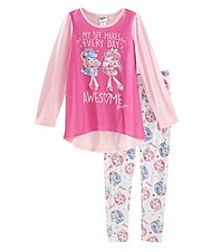 Shopkins Girls' 4-10 2 Piece Shoppies Pajama Set