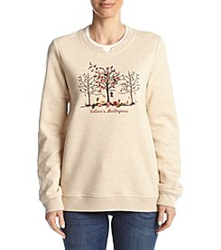 Breckenridge® Petites' Fleece Sweatshirt