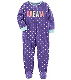 Carter's Girls' 12M-14 One Piece Dream Pajamas