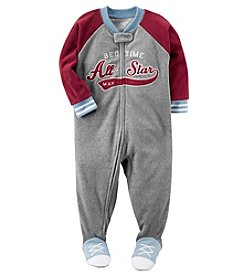 Carter's Boys' 12M-8 Bedtime All Star Fleece Pajamas