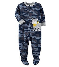 Carter's Boys' 12M-8 Camo Dog Fleece Pajamas