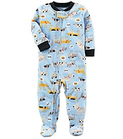 Carter's Boys' 12M-4T Doggie Fleece Pajamas