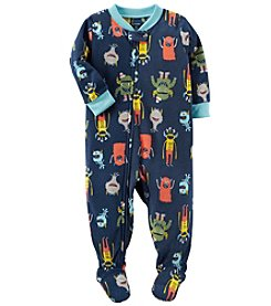 Carter's Boys' 12M-24M Monster Fleece Pajamas