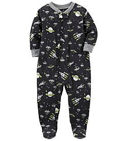 Carter's Boys' 12M-10 Space Fleece Pajamas