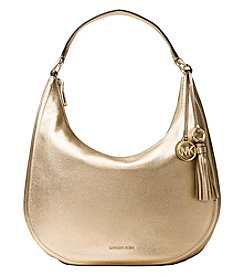 MICHAEL Michael Kors Lydia Large Metallic Hobo Bag