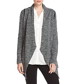 Ivanka Trump Athleisure Textured Open Cardigan
