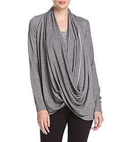 Ivanka Trump® Athleisure Open Wrap Sweater