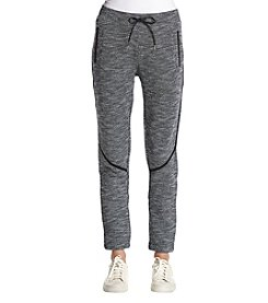 Ivanka Trump Athleisure Textured Seamed Jogger