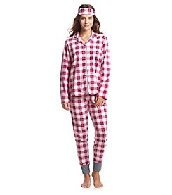 Zoe & Bella @BT 3 Piece Pajama and Eyemask Set