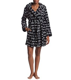 Betsey Johnson Wrap Front Robe