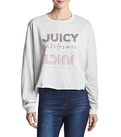 Juicy Couture Knit Juicy Graphic Tee