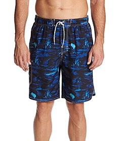 Paradise Collection Men's Islands Swim Trunks