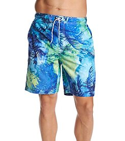 Paradise Collection Men's Palms Swim Trunks