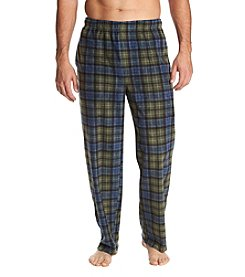 John Bartlett Statements Men's Microfleece Plaid Pant