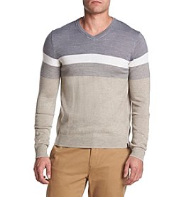 Calvin Klein Men's Merino Wool V-Neck Sweater