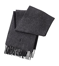 Polo Ralph Lauren Merino Wool Reversible Scarf