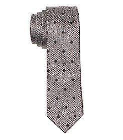 Nick Graham Men's Textured Dot Silk Tie