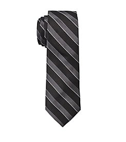 Nick Graham Men's Texture Stripe Silk Tie