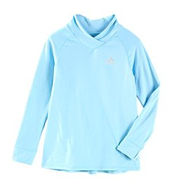 adidas Girls' 8-16 Cozy Pullover