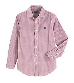 Lauren Boys' 8-20 Long Sleeve Poplin Shirt