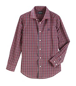 Lauren Boys' 8-20 Long Sleeve Checkered Shirt