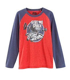 Boys' 8-20 Long Sleeve Give Me Space Tee