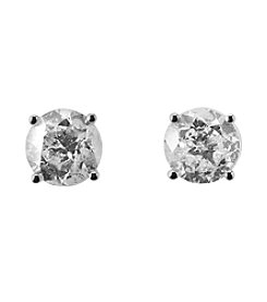 Effy 14K White Gold 1.96 Ct. T.W. Diamond Stud Earrings