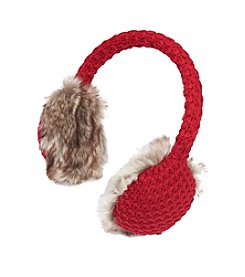 Collection 18 Solid Waffle Knit Tech Earmuffs